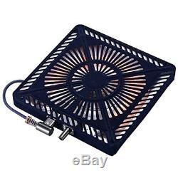 METRO Kotatsu Heater Unit Low Style Table Warmer 500w MSU501H-K 100V From Japan