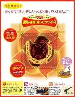 METRO Kotatsu Heater Unit Low Style Table Warmer 500w MSU501H-K 100V Japan From