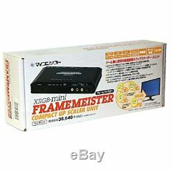 MICONSOFT Framemeister N XRGB-Mini Upscaler Unit DP3913547 NEW F/S from Japan