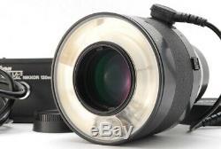 MINT Nikon Nikkor Medical 120mm F4 IF Lens + LA-2 AC Unit Ship DHL From JAPAN