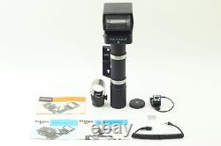 MINT Pentax AF400T Flash Unit with Cord Bracket For 6x7 67 II From JAPAN