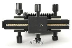 MINTCanon AUTO BELLOWS Unit Adapter for Canon FD Bayonet withFR Caps From Japan