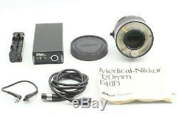 MINTNikon Medical-NIKKOR 120mm f/4 Lens with AC Unit LA-2 from Japan #186