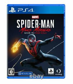 Marvel's Spider-Man Miles Morales Sony PS4 Games From Japan Tracking NEW