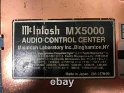 McIntosh MX5000 CD Player Receiver Head Unit Car Audio Stereo From Japan