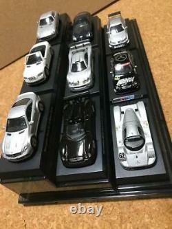 Mercedes-Benz Mercedes AMG 9 units set 1/64 Mini Car Black Kyosho from Japan toy