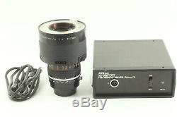 Mint Nikon Medical-NIKKOR 120mm f/4 Lens with AC UNIT LA-2 from JAPAN
