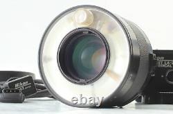 N. MINT Nikon Medical Nikkor 120mm f/4 MF Lens + LA-2 AC Unit SC-22 From JAPAN