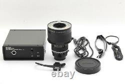 NEAR MINT Nikon Medical Nikkor 120mm F/4 Lens with AC UNIT LA-2 from JAPAN 401