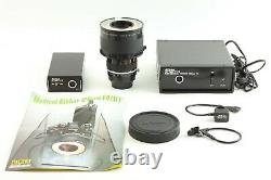 NEAR MINT Nikon Medical Nikkor Auto 120mm f/4 withDC AC Unit from JAPAN 891