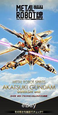 NEW Bandai METAL ROBOT soul SIDE MS Akatsuki Gundam OOWASHI Unit from Japan F/S