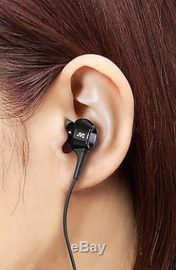 NEW JVC Victor HA-FXT100 in-ear headphones Hi-Speed twin system unit from Japan