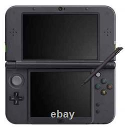 NEW Nintendo 3DS LL Lime Green / Black Console System From Japan Main Unit Only