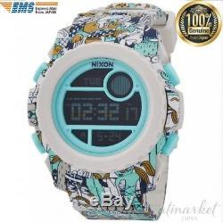 NIXON Watch SUPER UNIT BEACH DRIFTER LTD NA9212355-00 Men's genuine from JAPAN