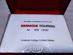 Near Mint MINOX TOURING World Limited 3333 units with Original Box from JAPAN