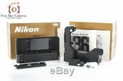 Never Used! Nikon F-36 Motor Drive Unit for Nikon F with Oriiginal Box from Japan