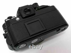 Nikon F2 Photomic AS Black Body with MD-2 EE Control Unit DS-12 from Japan F/S