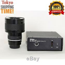Nikon Medical Nikkor 120mm F/4 IF Lens + AC Unit LA-2 from Japan