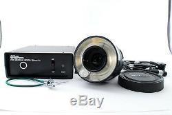 Nikon Medical Nikkor 120mm F/4 Lens withAC UNIT LA-2 SET EXCELLENT++ from JAPAN