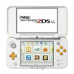 Nintendo 2DS LL Console White x Orange From Japan Tracking NEW G