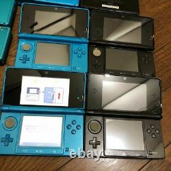 Nintendo 3DS CTR-001 20 units, junk items, main body For Parts Ship From JAPAN