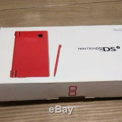 Nintendo DS i Main Unit Red Software 1 Box from jAPAN