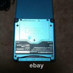 Nintendo Game Boy Advance SP main unit mana blue edition charger from jAPAN
