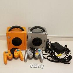 Nintendo GameCube main unit 2 pieces controller cable SET From Japan DHL Shiping