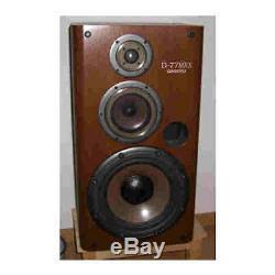 ONKYO D-77MRX 3 way speaker system wood grain (1unit) from japan