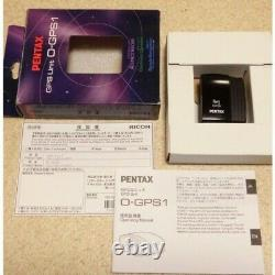 PENTAX GPS unit O-GPS1 /Box From Japan iz65