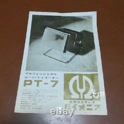 PIONEER PT-7 Tweeter unit Pair Tested Used analog Used From Japan