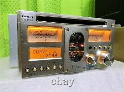 Panasomic CQ-TX5500D CD Player Receiver Head Unit Car Audio Stereo From Japan