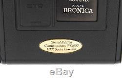 RARE 300 Unit Limited Edition BRONICA ETR-Si AEIII with 75mm GRIP From JAPAN 580