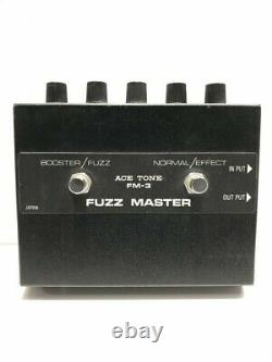Rare ACE TONE FM-3 FUZZ MASTER / Effector BLK / Main Unit Only From Japan F/S