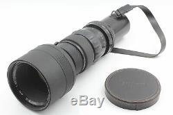 Rare Excellent+5 Nikon Nikkor Q Auto 400mm F4.5 + Focusing Unit From Japan