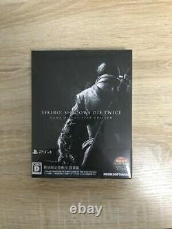 SEKIRO SHADOWS DIE TWICE GAME OF THE YEAR EDITION Sony PS4 From Japan NEW