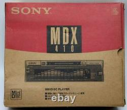 SONY MDX-410 Unused MD Player Receiver Head Unit Stereo Car Audio From Japan