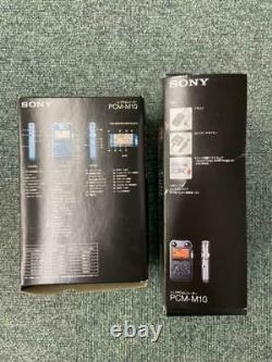 SONY PCM-M10 5-unit set Linear PCM recorder operation confirmed used from japan