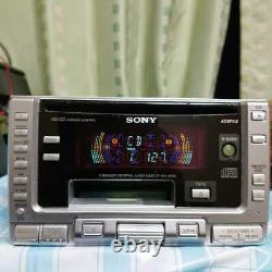SONY WX-4000 CD / Cassette Player Receiver Head Unit Stereo Audio From Japan