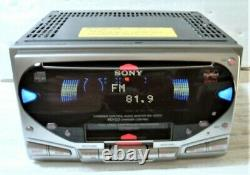 SONY WX-4500X CD / Cassette Player Receiver Head Unit Stereo Audio From Japan