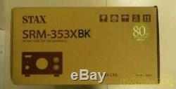 STAX SRM-353XBK Driver Unit 80th Anniversary Model Black Fast From Japan