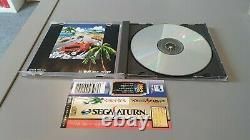 Sega Saturn Out Run japan SS from japan with Spine/Obi JPN