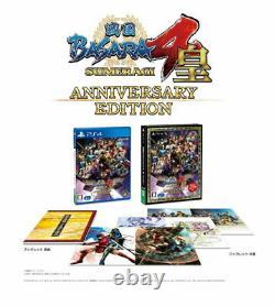 Sengoku BASARA 4 Sumeragi Anniversary Edition Sony PS4 From Japan Tracking NEW