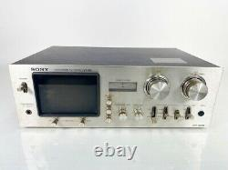 Sony Audioscope TV Tuner VT-M5 High End Vintage Working Free Shipping from Japan