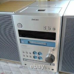 Sony CD / MD / Cassette Mini Component HCD J3MD main unit only used from Japan