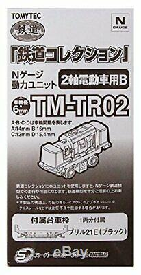 TM-TR02 diorama supplies for Tommy Tech Jiokore railroad collection power unit 2