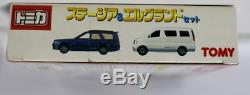 TOMY Tomica Stagea & Elgrand set gift four set 4 units set includes from Japan