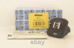 TOP MINT IN BOX NIKON AS-17 TTL FLASH UNIT GUN COUPLER For F3 From JAPAN