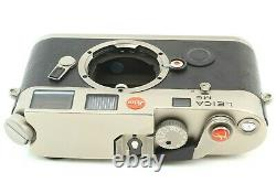 TOP MINT in BOX / 2000 UNITS ONLY Leica M6 Titan Titanium 0.72 from JAPAN