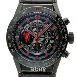 Tag Heuer Carrera Caliber Manchester United CAR2A1J. FC6400 From Japan h0216